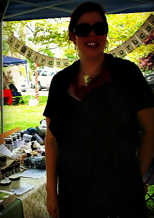 At the Philadelphia Pagan Pride with my shop, La Sirene et Le Corbeau