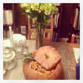 [Manic Mondays] Stuffed Pumpkin