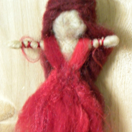 Ladies in Red: First Three Goddess Dollies