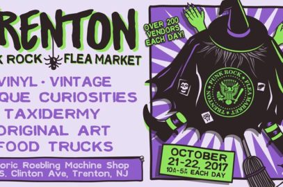 Sunday!  Trenton Punk Rock Flea Market!