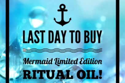 Last Day to Buy Mermaid Limited Edition Ritual Oil!