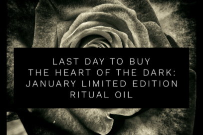 🖤 Last Day to Buy Heart of the Dark: Limited Edition Ritual Oil 🖤